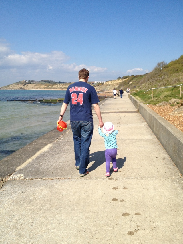 Joni and Daddy Isle of Wight