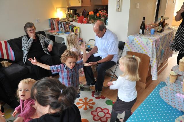 Impromptu Toddler Dance Floor