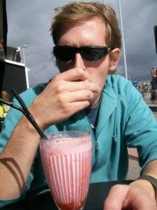 chris milkshake