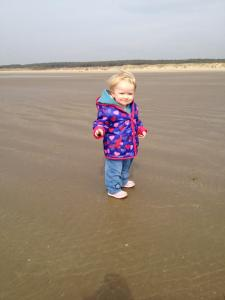 A little Joni at the beach