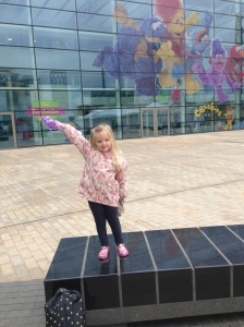 Outside Cbeebies HQ
